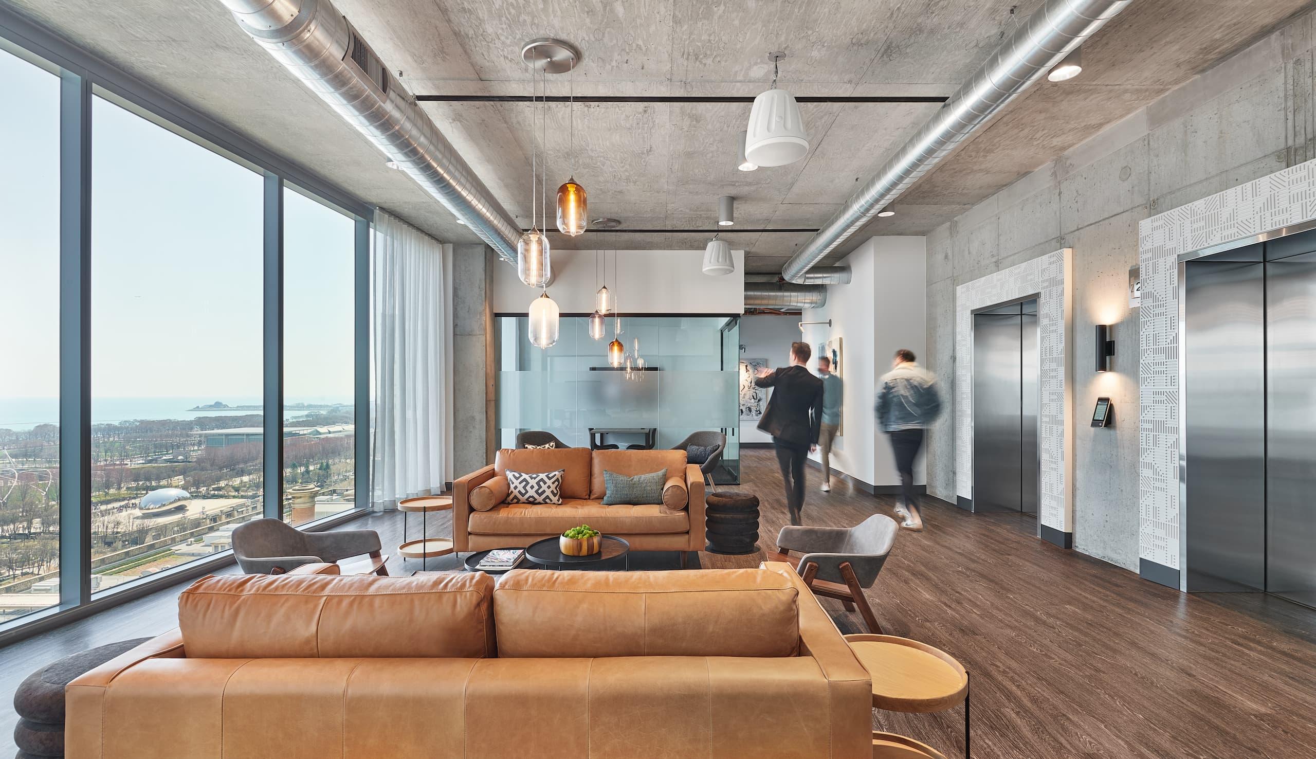 Floor 18 Lobby