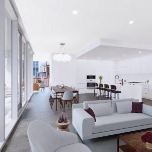 Parkline living kitchen