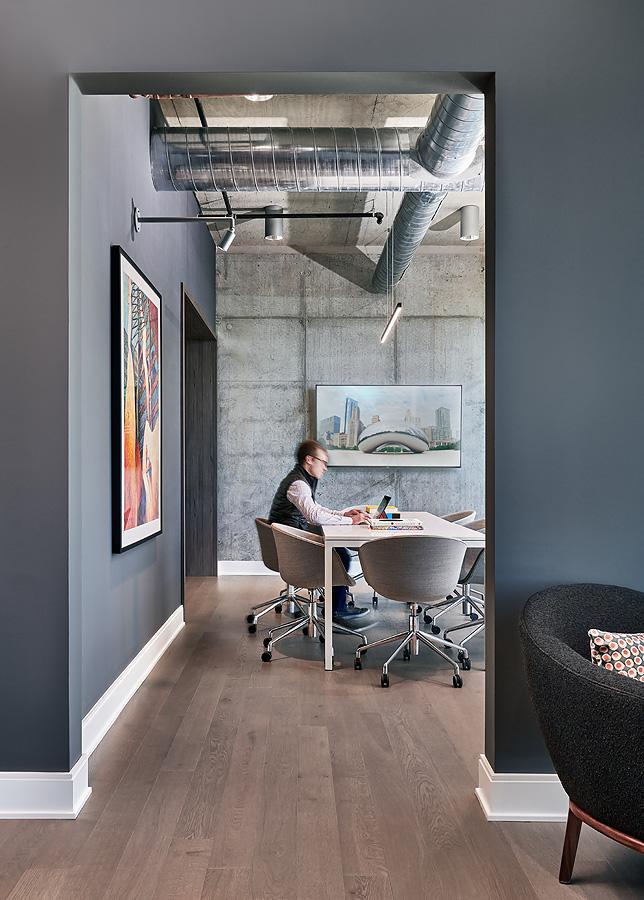 Condo meeting room