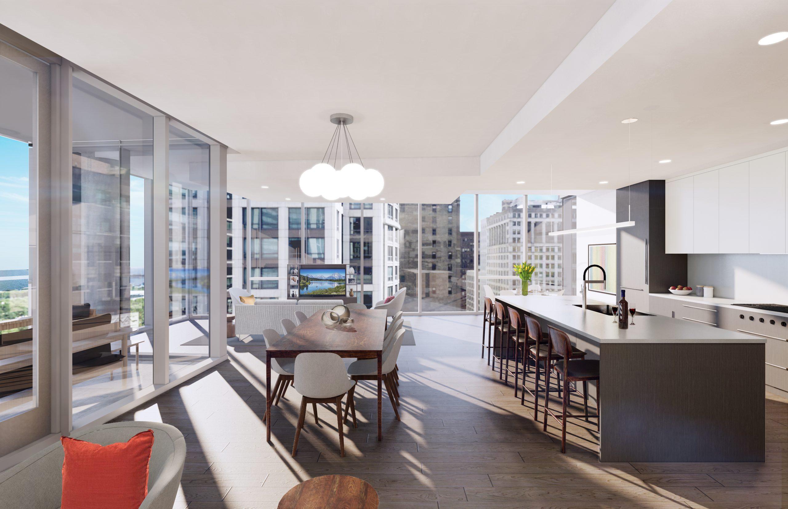 Parkline Chicago Condominiums Floor Plans