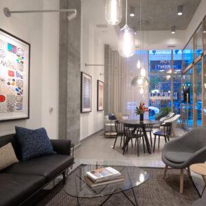 Parkline Apartments amenity spaces